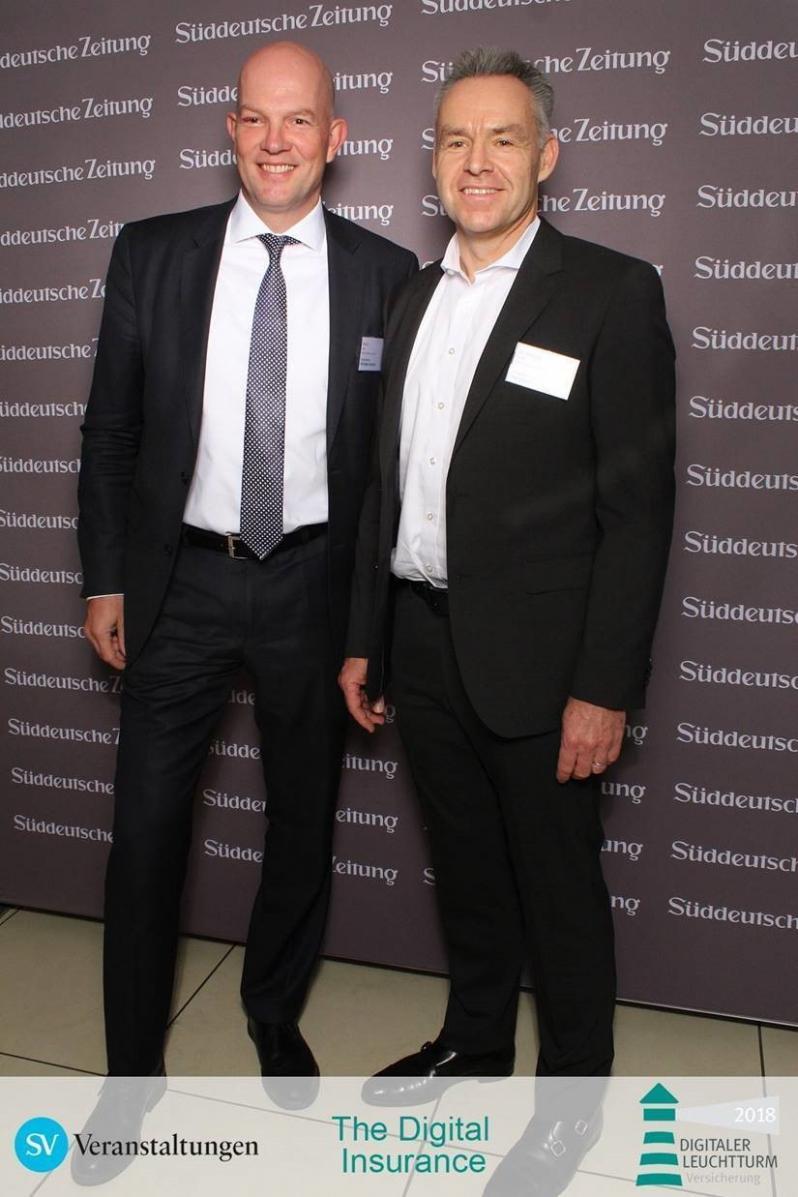 Ingo Marjan und Dr. Alfons Niebuer